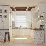 interior design of a kitchen