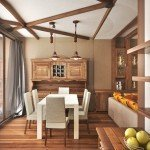 Design of a house of chalet type close to the city-7