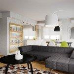 Mid-Century Modern Apartment-7