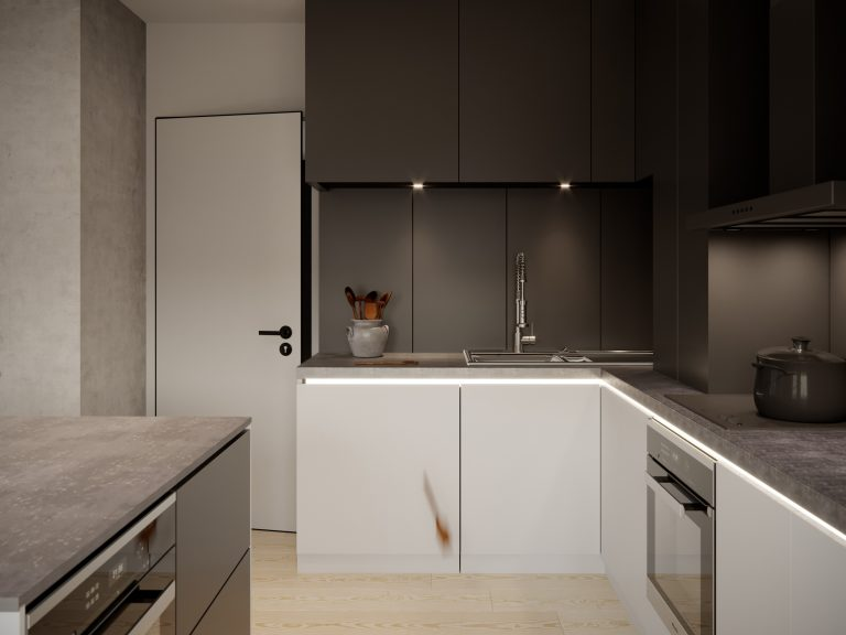 Minimalist CGI and Interior Design
