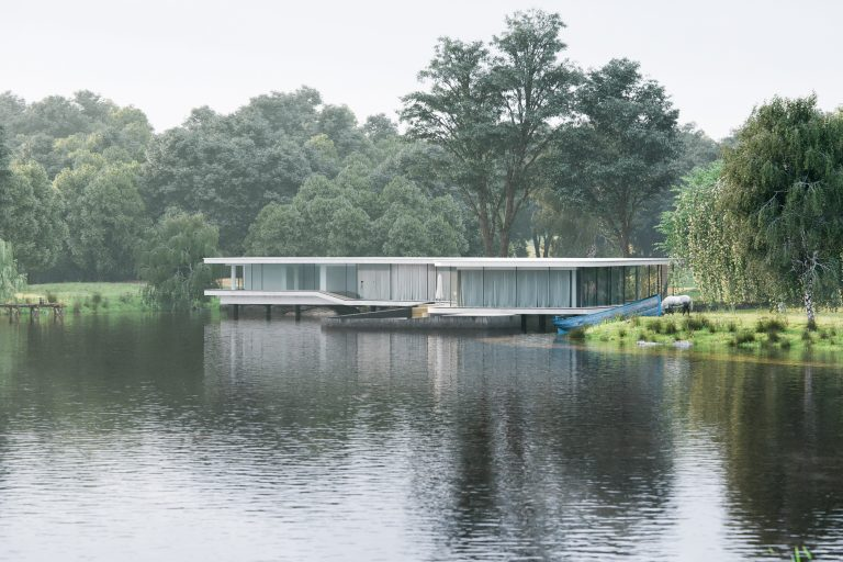 THE LAKE HOUSE CGI VISUALISATIONS