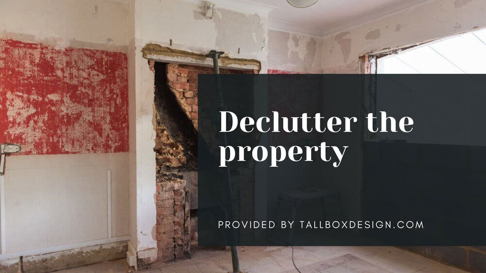 Declutter-the-property