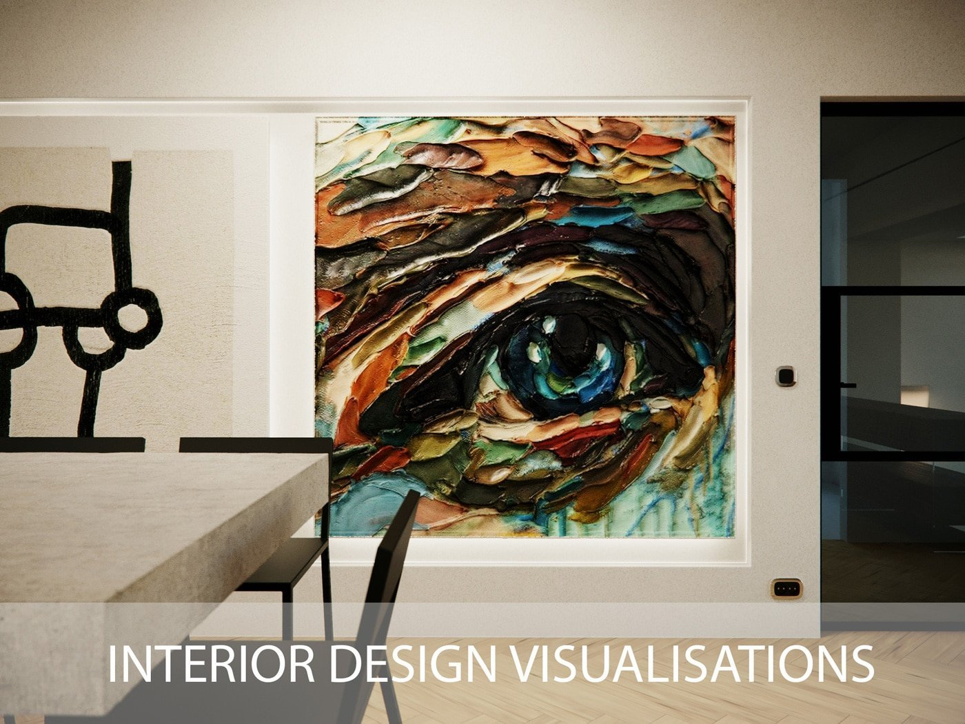 Why is the Interior Design CGI chosen by many design agencies?