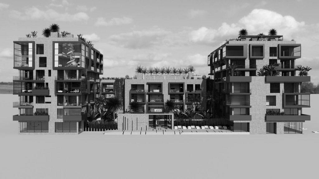Architecture Concept rendering Palma De Mallorca (2)