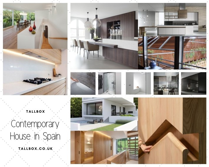 Contemporary house moodboard