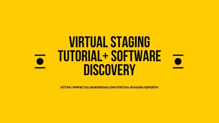 Virtual Staging Tutorial and Software (step by step)