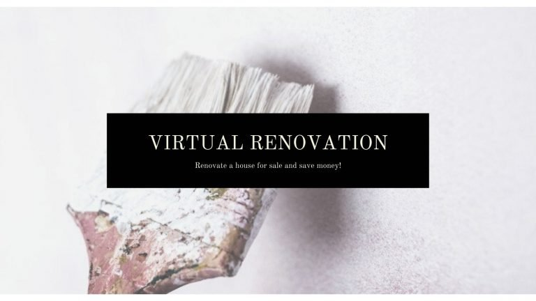 How to Virtually renovate a house for sale and save money?