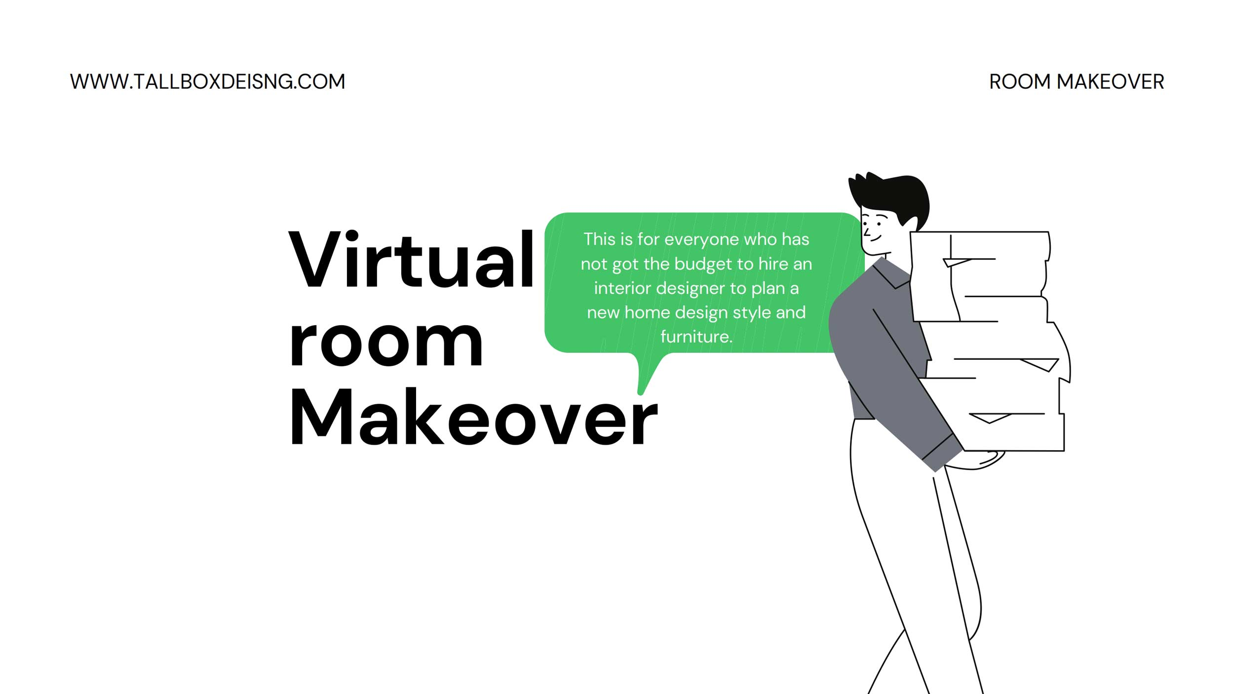 Virtual Room Makeover – Room Design application