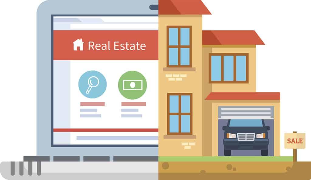 single page Property Website