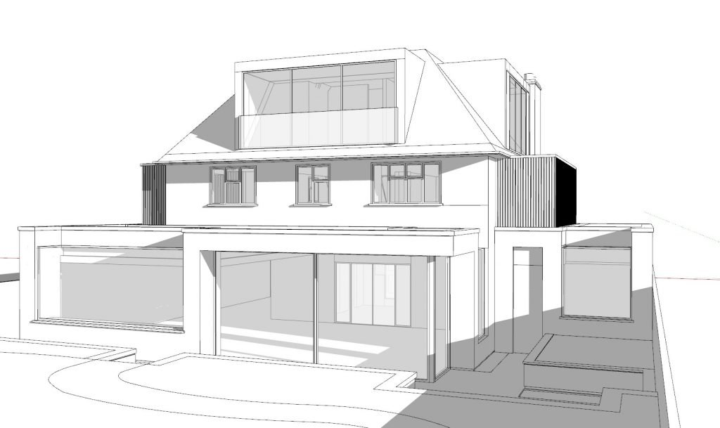 5 bed house concept