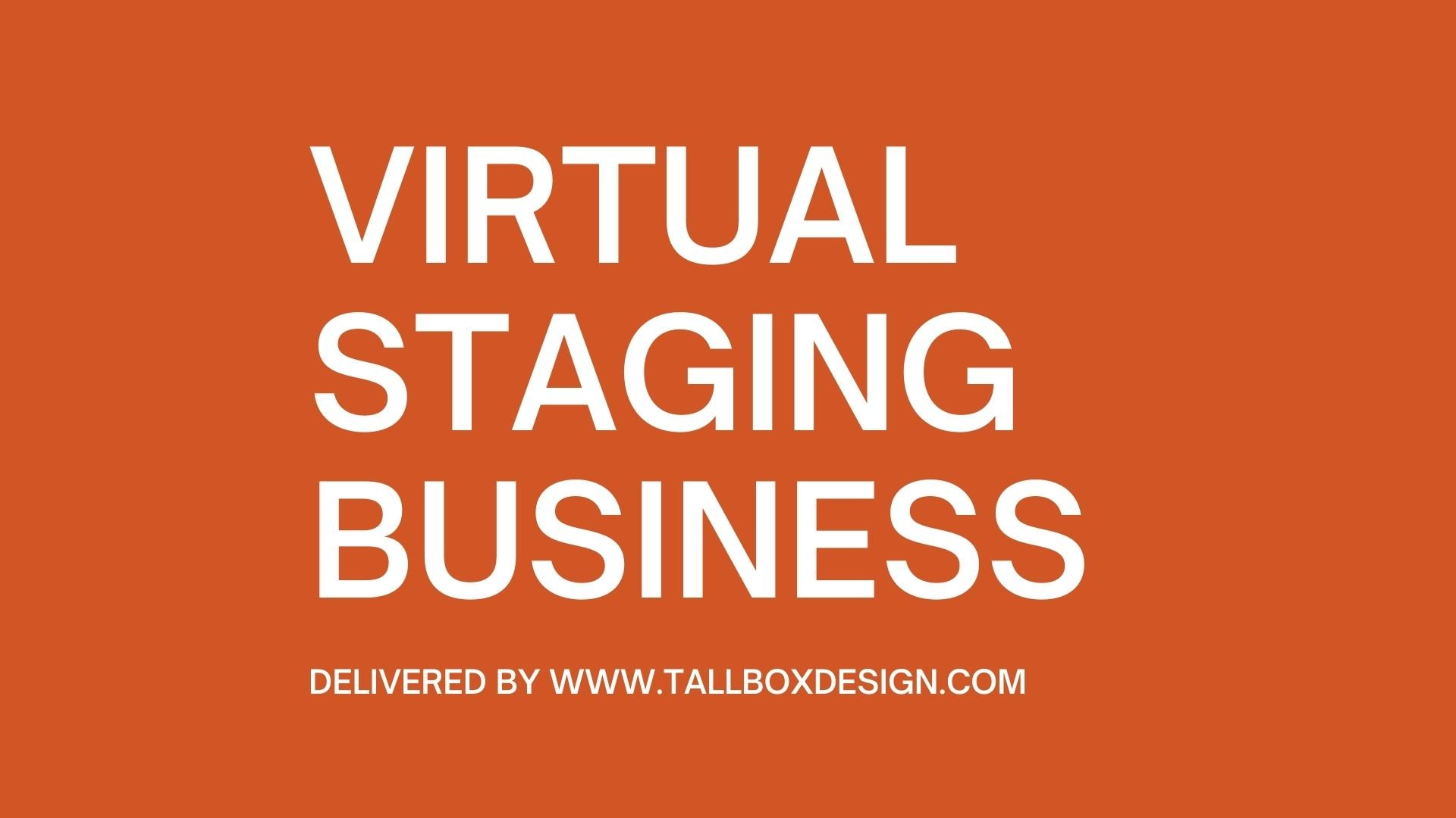 Virtual Staging Business (As a Second Business)?