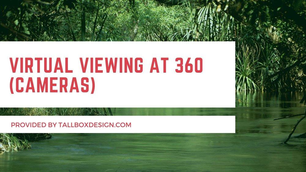 Virtual Viewing at 360 (Cameras)