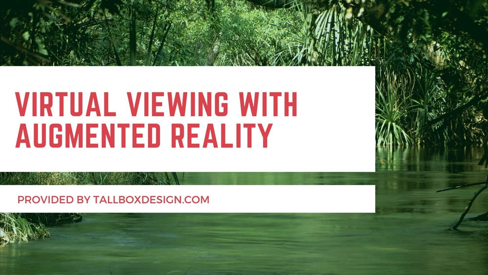 Virtual Viewing with Augmented Reality