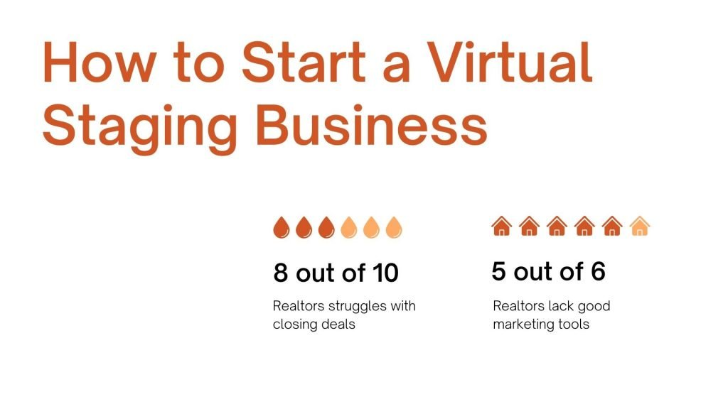 how to start virtual staging company