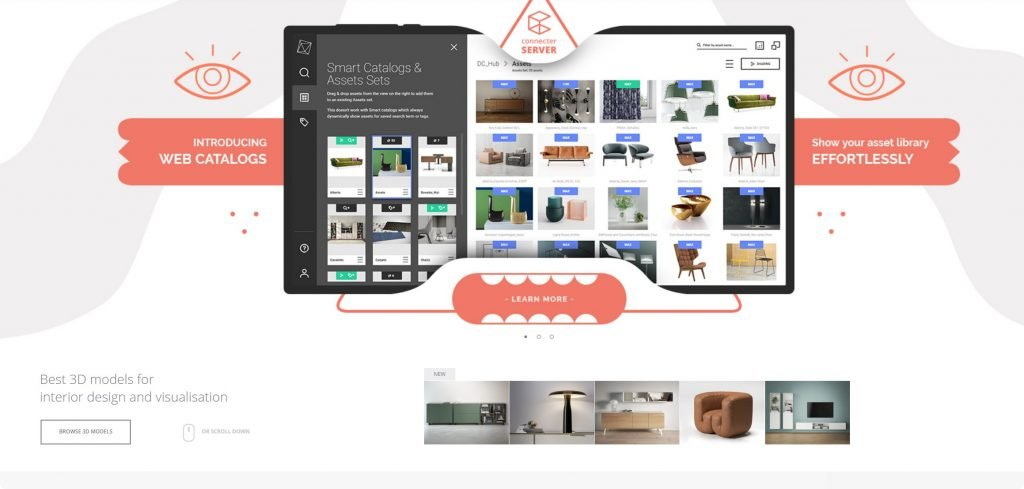 virtual staging furniture designconnected