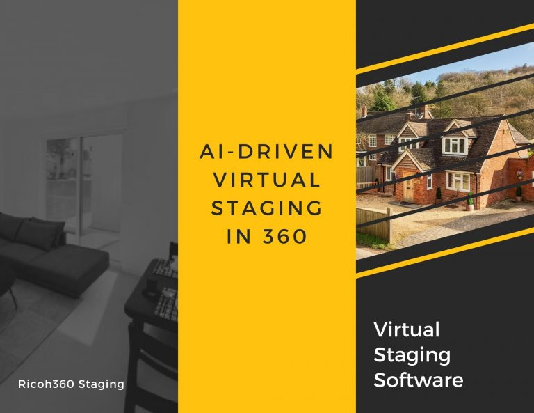 AI-Driven Virtual Staging in 360 by RICOH360