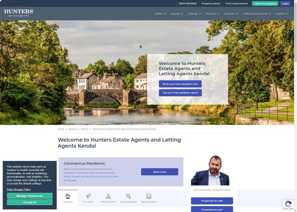 Hunters-estate agents lake district