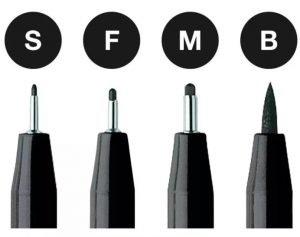 hand rendering - Faber-Castell Pitt Artist pen B in black