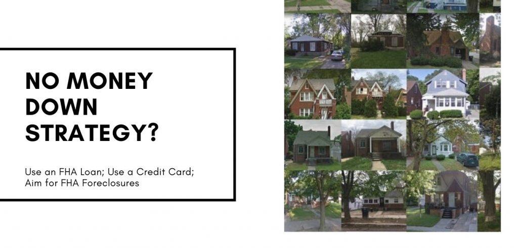 No money foreclosure homes