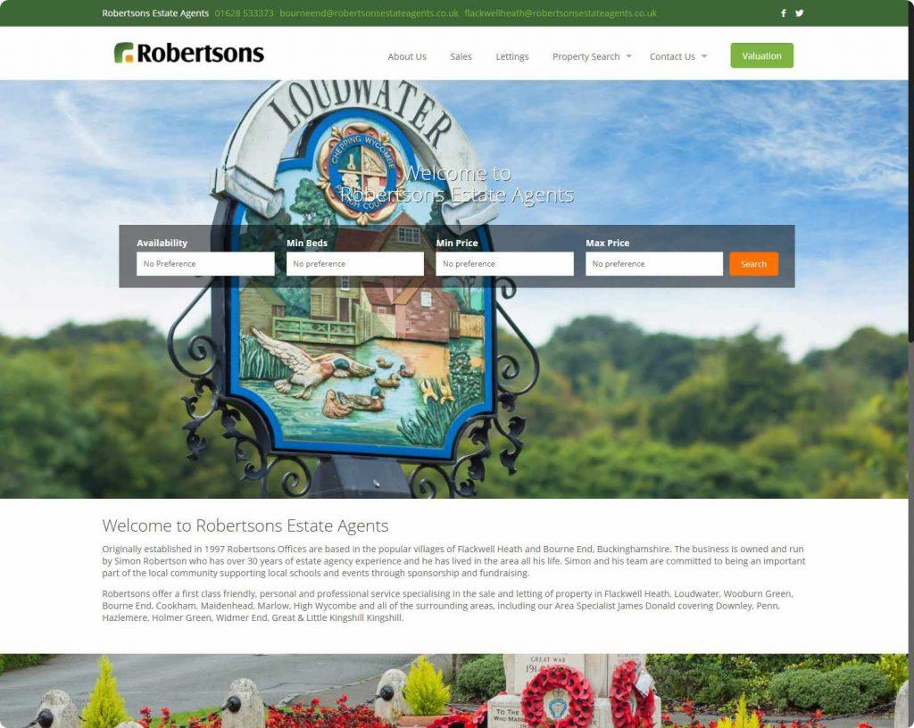 Robertsons Estate agents Flackwell Heath Buckinghamshire