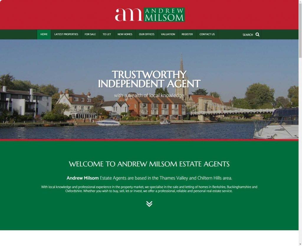 andrew milsom estate real estate high wycombe website