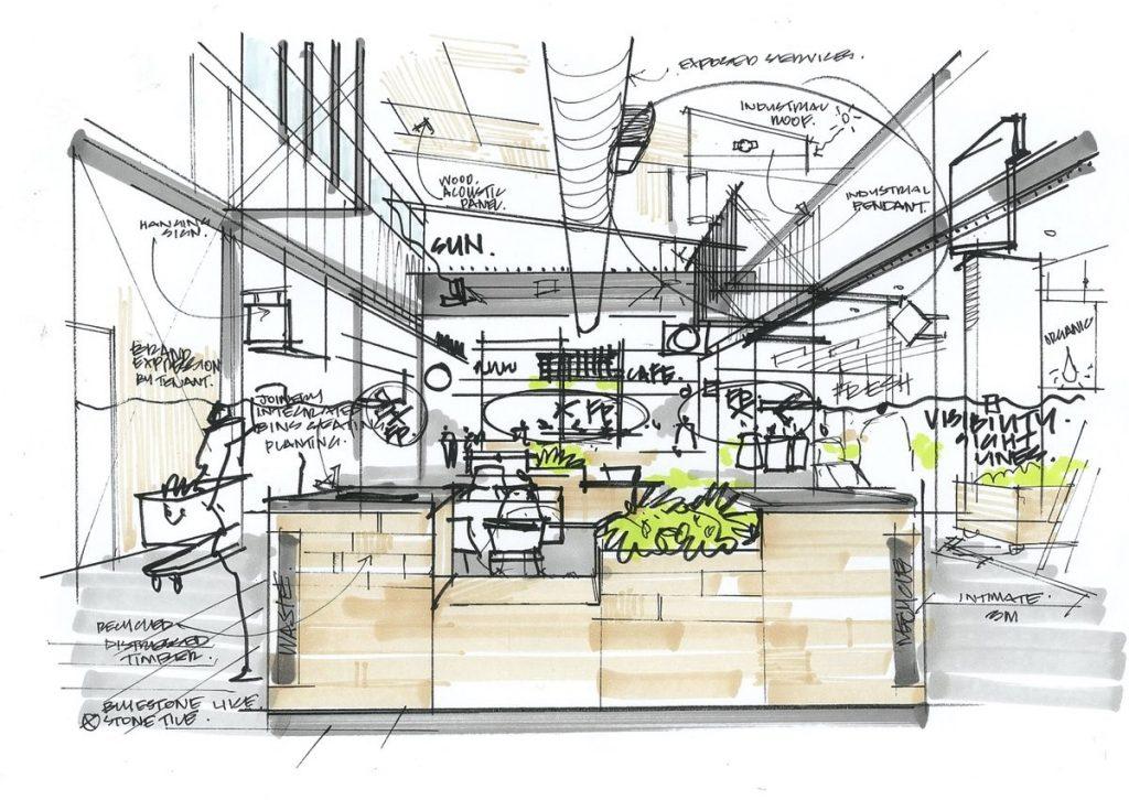 details of interior rendering2