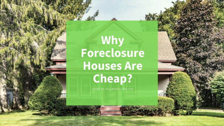 Why Foreclosure Houses are Cheap?