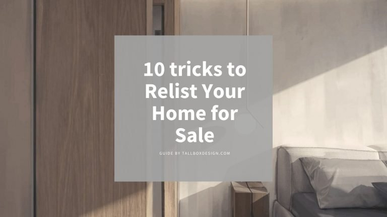 10 tricks to Relist Your Home for Sale
